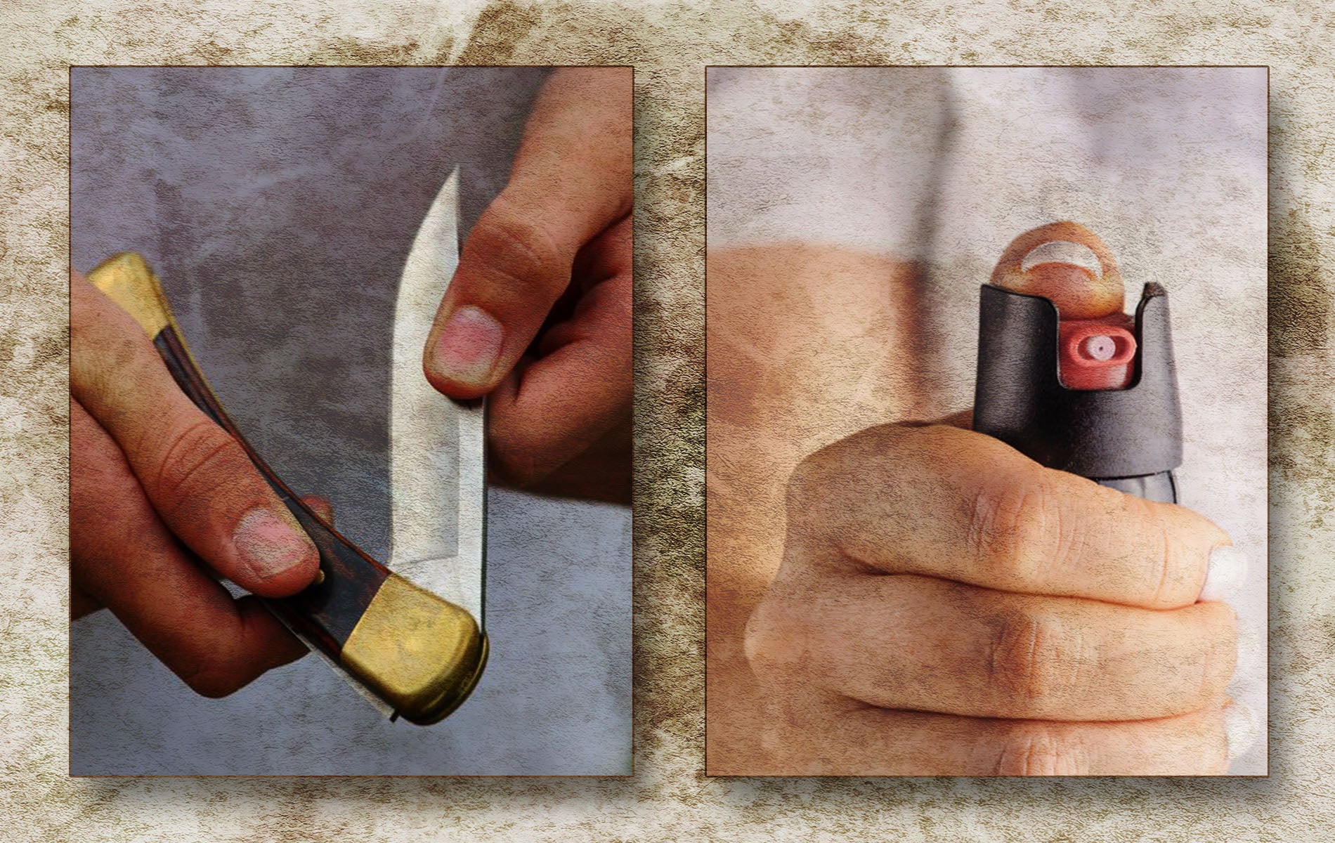 Do You Prefer a Pocket Knife or Pepper Spray?