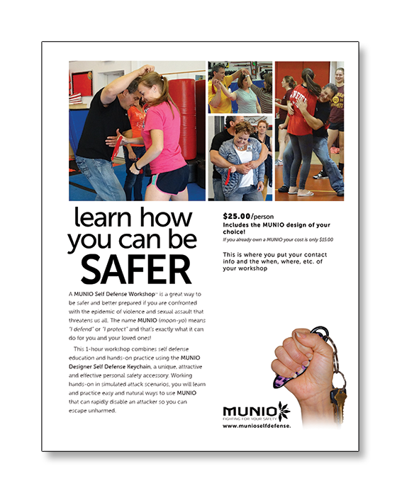 MUNIO_Self_Defense_Workshop_Promotional_Flyer