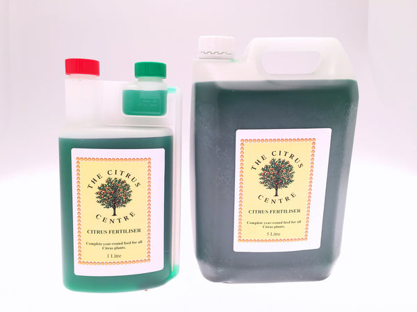 1 and 5 Litre Bottle of Citrus Centre Fertiliser