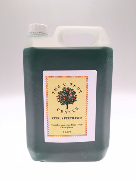 5 Litre Bottle of Citrus Centre Fertiliser