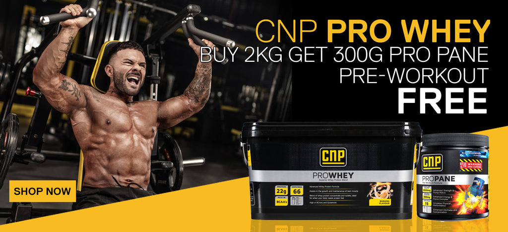 CNP-Professional-Free-Pre-Workout-with-CNP-Pro-Whey-buy-cnp-pro-whey-at-nutri4u.co.uk