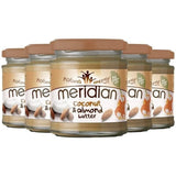 Meridian Coconut & Almond Butter Smooth 6 x 170g Natural & Organic  www.nutri4u.co.uk - 2