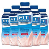 MultiPower Fit Protein Lite 12 x 500ml / Chocolate Protein  www.nutri4u.co.uk - 2