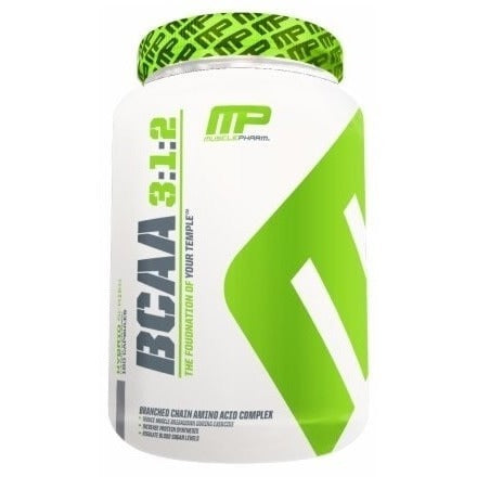 MusclePharm BCAA 3:1:2 (Capsules) 240 Capsules (30 Servings) Amino Acids/BCAAs  www.nutri4u.co.uk