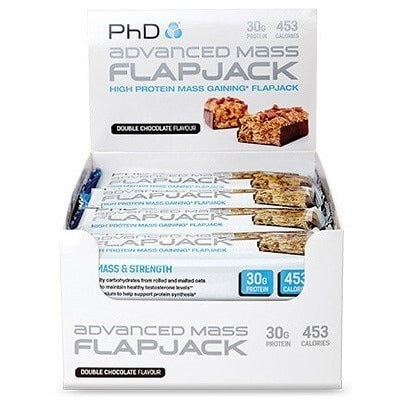 PhD Nutrition Advanced Mass Flapjack  Protein  www.nutri4u.co.uk - 1