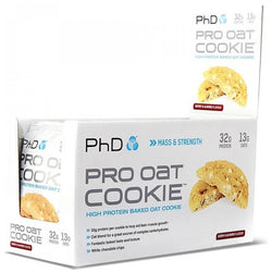 PhD Nutrition Pro Oat Cookie 12 x 75g Cookies / Berry & Almond Protein  www.nutri4u.co.uk - 1