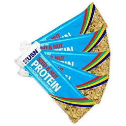 USN Protein Seed & Nut Savoury Bar 12 x 65g Bars / Naturally Flavoured Protein  www.nutri4u.co.uk - 1