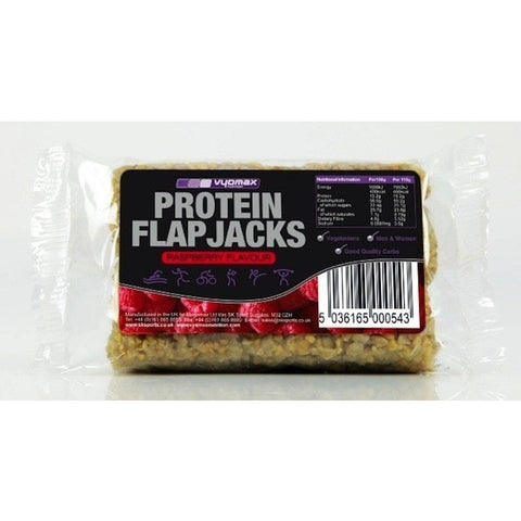 Vyomax Nutrition Protein Flapjacks Single 115g Flapjack / Cherry Almond Protein  www.nutri4u.co.uk - 2