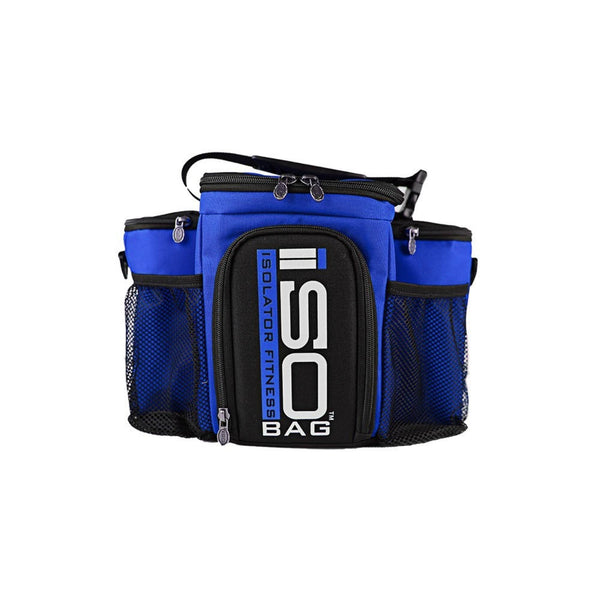 Isolator Fitness ISOBAG 3 Meal Reverse Colours Blue Accessories  www.nutri4u.co.uk - 1