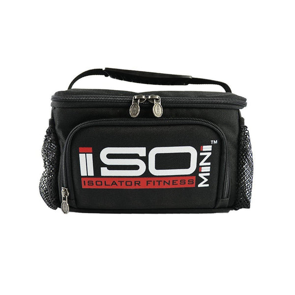 Isolator Fitness ISOMINI Meal Bag Black Accessories  www.nutri4u.co.uk - 1