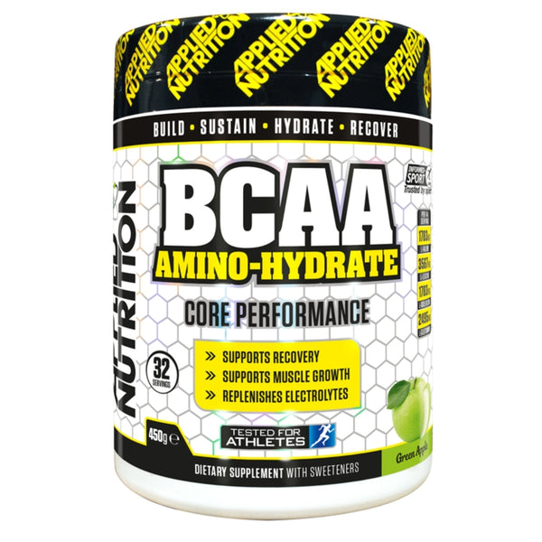 Applied Nutrition BCAA Amino Hydrate 450g (32 Servings) / Green Apple Amino Acids/BCAAs  www.nutri4u.co.uk - 1