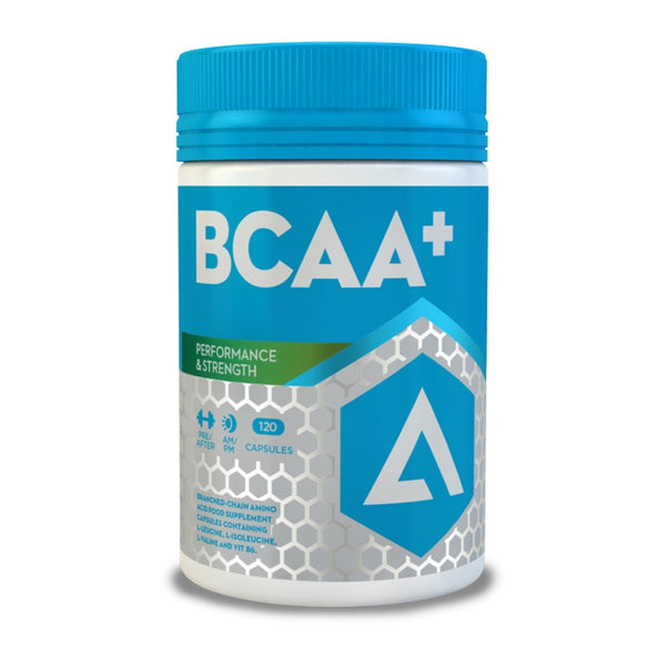 Adapt Nutrition BCAA+ 120 Caps Amino Acids/BCAAs  www.nutri4u.co.uk