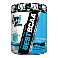 BPI Sports Best BCAA 300g (30 Servings) / Blue Raspberry Amino Acids/BCAAs  www.nutri4u.co.uk - 1