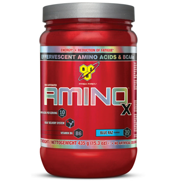 BSN Amino-X 435g (30 Servings) / Blue Raz Amino Acids/BCAAs  www.nutri4u.co.uk - 1