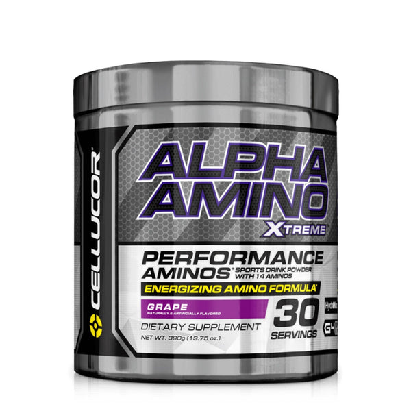 Cellucor Alpha Amino Xtreme (4th Gen) 390g (30 Servings) / Fruit Punch Amino Acids/BCAAs  www.nutri4u.co.uk