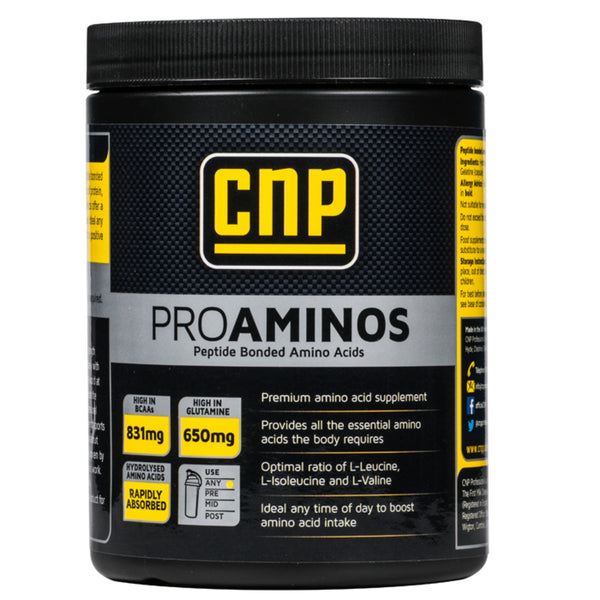 CNP Professional Pro Aminos 500 Caps Amino Acids/BCAAs  www.nutri4u.co.uk