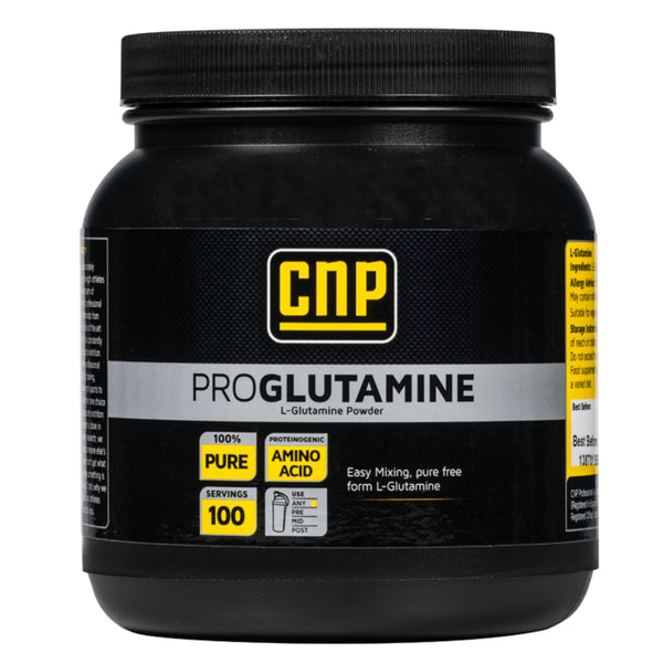 CNP Professional Pro Glutamine 500g (100 Servings) Amino Acids/BCAAs  www.nutri4u.co.uk