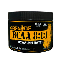Grenade Essentials BCAA's 8:1:1 150 Caps Amino Acids/BCAAs  www.nutri4u.co.uk