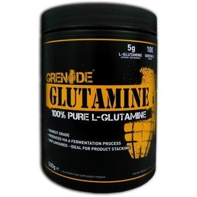 Grenade Essentials Glutamine 500g (100 Servings) Amino Acids/BCAAs  www.nutri4u.co.uk - 1