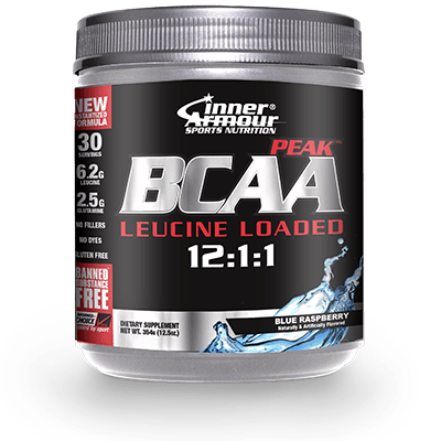 Inner Armour BCAA Peak 327g (30 Servings) / Blue Raspberry Amino Acids/BCAAs  www.nutri4u.co.uk - 1
