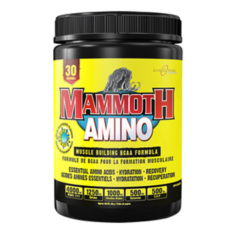 Interactive Nutrition Mammoth Amino 285g (30 Servings) / Blue Raspberry Amino Acids/BCAAs  www.nutri4u.co.uk