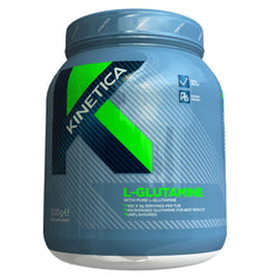 Kinetica L-Glutamine 500g (100 Servings) Amino Acids/BCAAs  www.nutri4u.co.uk