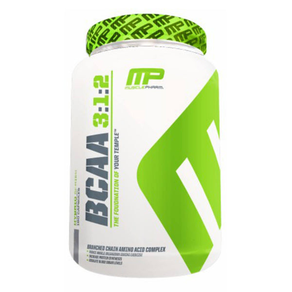 MusclePharm BCAA 3:1:2 180g / Unflavoured Amino Acids/BCAAs  www.nutri4u.co.uk