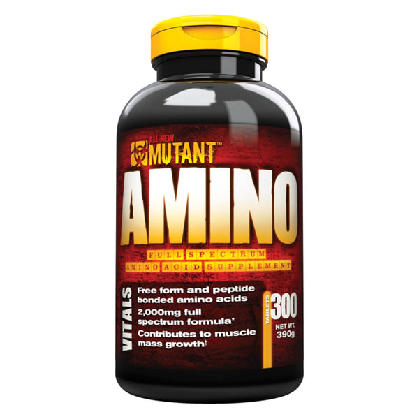 Mutant Amino 300 Caps (150 Servings) Amino Acids/BCAAs  www.nutri4u.co.uk - 1