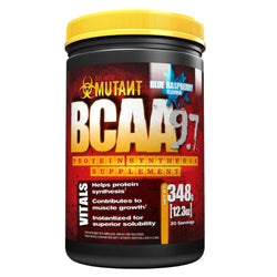 Mutant BCAA 9.7 348g (30 Servings) / Blue Raspberry Amino Acids/BCAAs  www.nutri4u.co.uk - 1