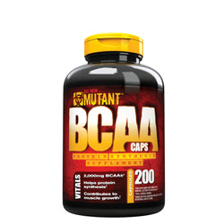 Mutant BCAA Caps 200 Caps (50 Servings) Amino Acids/BCAAs  www.nutri4u.co.uk - 1
