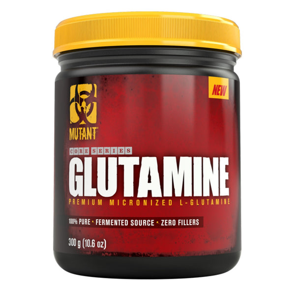 Mutant Core Series L-Glutamine 300g (60 Servings) Amino Acids/BCAAs  www.nutri4u.co.uk