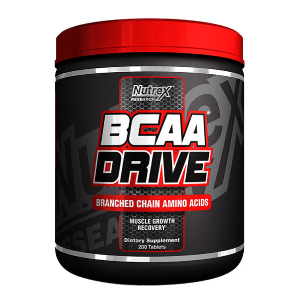Nutrex BCAA Drive Black 200 Caps (40 Servings) Amino Acids/BCAAs  www.nutri4u.co.uk