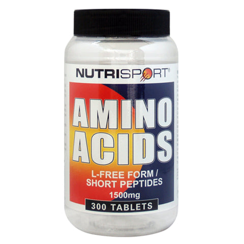 Nutrisport Amino Acids 300 Tablets (300 Servings) Amino Acids/BCAAs  www.nutri4u.co.uk