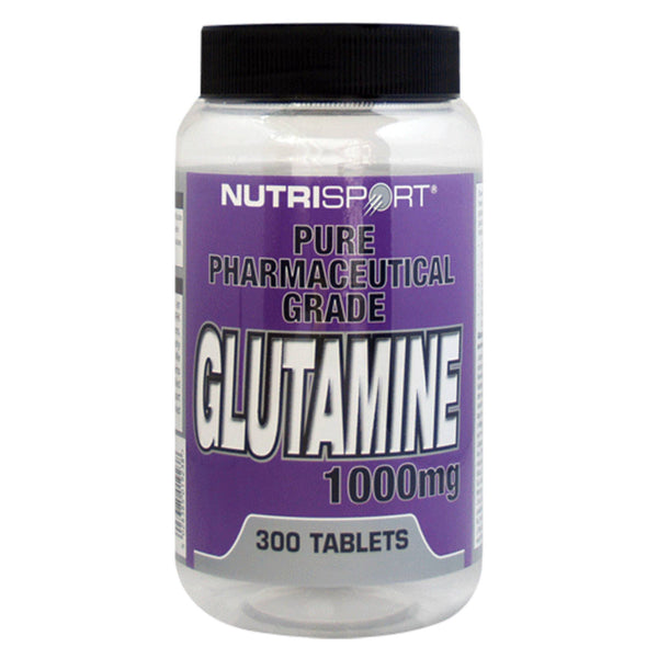 Nutrisport Glutamine Tablets 300 Tablets Amino Acids/BCAAs  www.nutri4u.co.uk