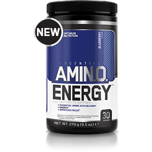 Optimum Nutrition Amino Energy 30 Servings / Blueberry Amino Acids/BCAAs  www.nutri4u.co.uk