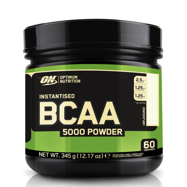 Optimum Nutrition BCAA 5000 345g (60 Servings) / Unflavoured Amino Acids/BCAAs  www.nutri4u.co.uk
