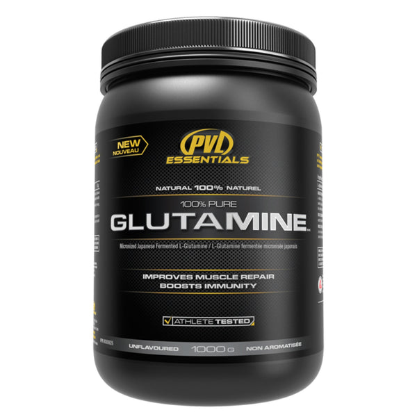 PVL Essentials 100% Glutamine 1kg / Unflavoured Amino Acids/BCAAs  www.nutri4u.co.uk - 1