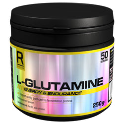 Reflex Nutrition L-Glutamine 250g Amino Acids/BCAAs  www.nutri4u.co.uk - 1