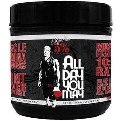 Rich Piana 5% NutritionAllDayYouMay 30 Servings / Blue Raspberry Amino Acids/BCAAs  www.nutri4u.co.uk