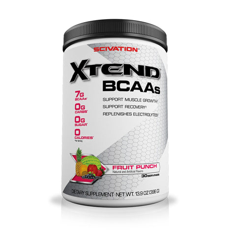 Scivation Xtend BCAA's 375g / Fruit Punch Amino Acids/BCAAs  www.nutri4u.co.uk - 1