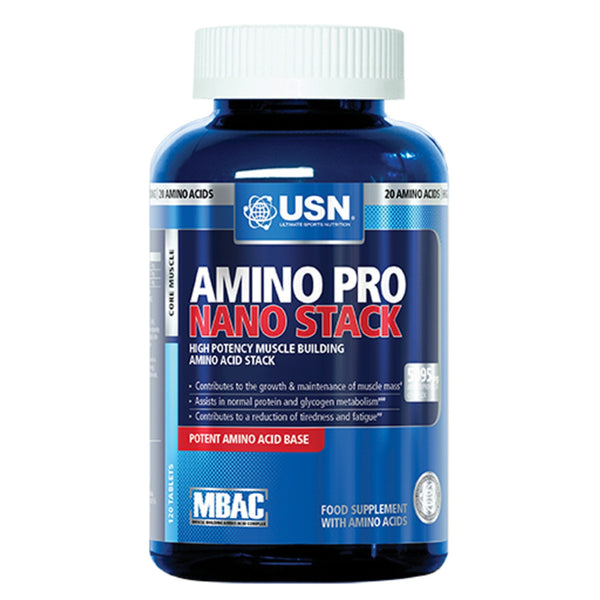 USN Amino Pro Nano-Stack  Amino Acids/BCAAs  www.nutri4u.co.uk