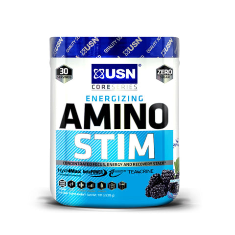 USN Amino Stim 30 Servings / Acai Berry Amino Acids/BCAAs  www.nutri4u.co.uk