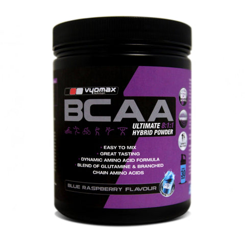 Vyomax Nutrition BCAA 8-1-1 Extreme Hybrid Powder  Amino Acids/BCAAs  www.nutri4u.co.uk