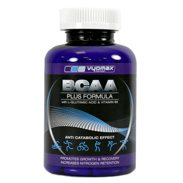 Vyomax Nutrition BCAA Plus  Amino Acids/BCAAs  www.nutri4u.co.uk