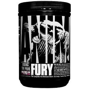 Animal Fury 20 Servings / Green Apple Pre-Workout  www.nutri4u.co.uk