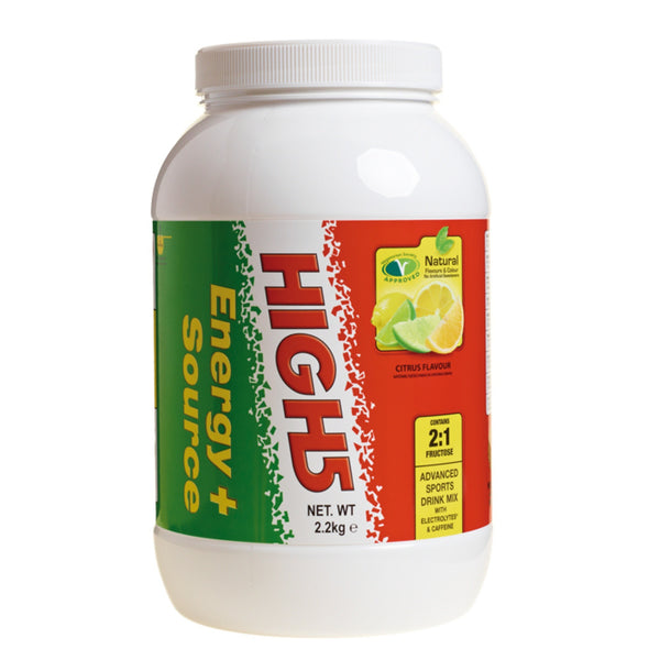 High5 EnergySource Plus 2.2kg (46 Servings) / Citrus Carbohydrate  www.nutri4u.co.uk - 1