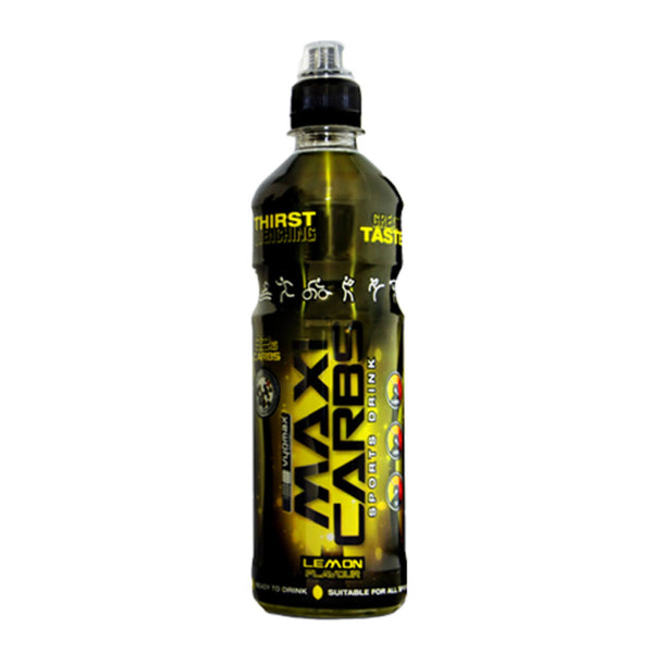 Vyomax Nutrition Maxi Carbs Drinks 12 x 500ml / Blackcurrant Carbohydrate  www.nutri4u.co.uk