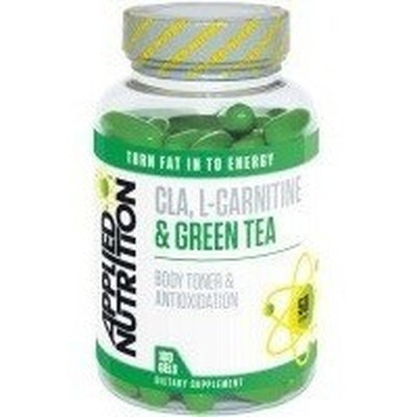 Applied Nutrition CLA, L-Carnitine & Green Tea 100 Softgels Weight Management  www.nutri4u.co.uk
