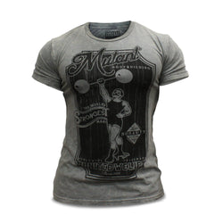 Mutant M2W Mutant Vintage Bodybuilding T-Shirt Medium / Grey Clothing  www.nutri4u.co.uk - 1