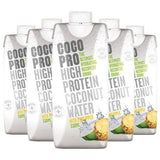 CocoPro High Protein Coconut Water 8 x 330ml Cartons / Original Natural & Organic  www.nutri4u.co.uk - 3